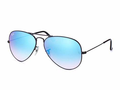 17f108c600441 Óculos Solar Ray-ban Rb3025 Aviador Tamanho 58 Espelhados - Omega ...