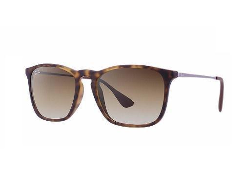 Óculos De Sol Ray-ban Chris Rb4187l 856/13