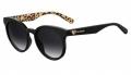 Óculos De Sol Love Moschino Feminino Mol003/s 80790 Preto Brilho