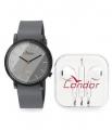 Kit Relógio Masculino Condor Co2035ktq/k2c C/ Fone de Ouvido