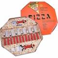 Kit Para Pizza Tramontina 14 Peças Vermelho