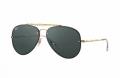 Óculos Solar Ray-Ban Rb3584-n 9050/71 61-13 Aviador Flat