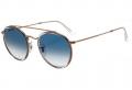 Óculos De Sol Ray Ban Rb3647-n 9068/3f 51-22 Rose/Azul