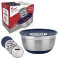 Conjunto German Bowl Inox Com Ralador - Euro Design