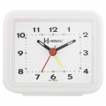 Relógio Despertador Herweg Branco 2612 021
