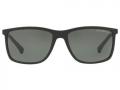 Óculos De Sol Empório Armani Ea4058 5653/9a Preto Fosco Polarizado G15