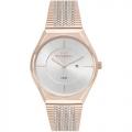 Relógio Technos Rosé E Prateado Feminino Fashion Gl15ap/4b