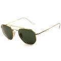 Óculos De Sol Ray-Ban Rb3648l The Marshal 001 Dourado