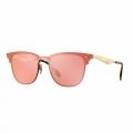 Óculos De Sol Ray-ban Blaze Clubmaster Rb 3576n 043/e4 140