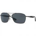 Óculos De Sol Ray-ban Rb3531l 041/81 Polarizado