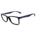 Armação De Óculos Infantil Ray-ban Rb1572l 3786