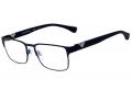 Armação Óculos de Grau Emporio Armani EA1027 3100 55-18 Azul
