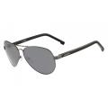 Óculos De Sol Lacoste L163S 033 62-13 Aviador Prata Espelhado