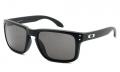 Óculos de Sol Oakley Holbrook OO9102L-02 55 Preto Brilho Polarizado