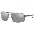 Óculos De Sol Ray Ban Chromance RB3604-CH 004/5J Espelhado