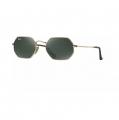 Óculos de Sol Ray-Ban Octagonal RB3556-N 001 53-21 145 Dourado