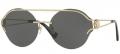 Óculos Solar Grife Versace Mod.2184 1252/87 61-17 140