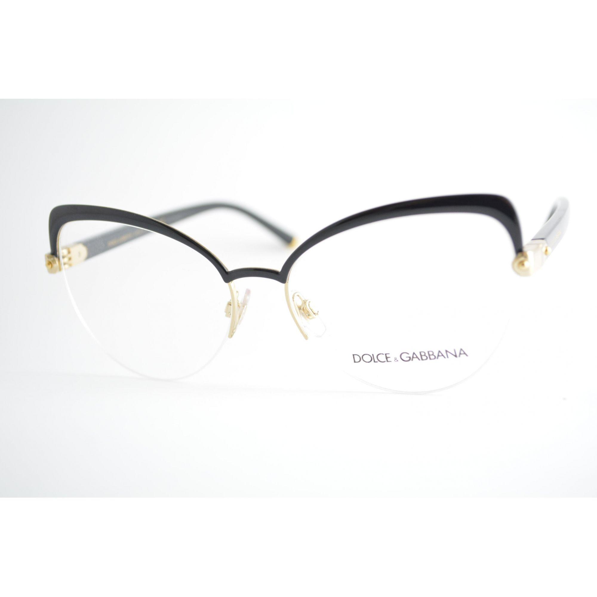 dadc07b6e3558 Armação de Grau Feminino Dolce   Gabbana DG1305 01 - Omega Ótica e  Relojoaria