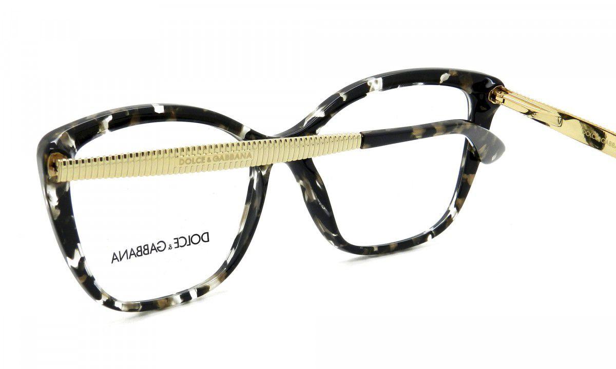 Armação de Grau Feminino Dolce   Gabbana DG3280 911 - Omega Ótica e ... 7bdffdb7d9