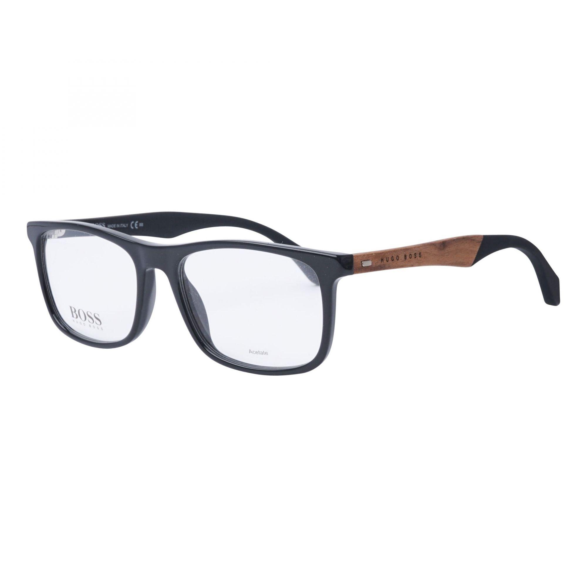 906566907 Armação De Óculos De Grau Masculino Boss 0779 807 - Omega Ótica e ...