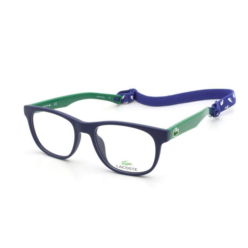 96877246b Armação De Óculos Infantil Lacoste L3621 424 47-16 130 - Omega Ótica ...