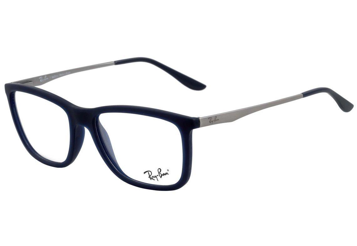 3186cfee2 Armação De Óculos Ray-ban Rb7061l 5451 54-17 145 - Omega Ótica e ...