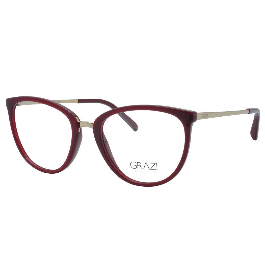 c7db991ddb4e1 Armação Óculos De Grau Feminina Grazi Massafera GZ3052 G079 - Omega ...