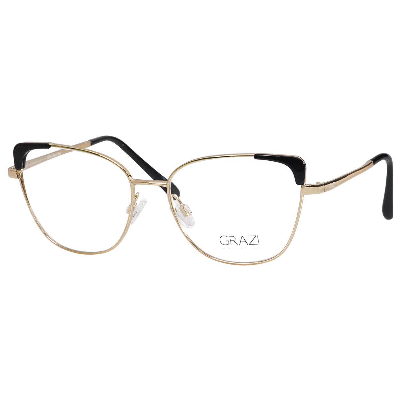 38b01794f Armação óculos de Grau Feminino Grazi Massafera GZ1013 F920 - Omega ...