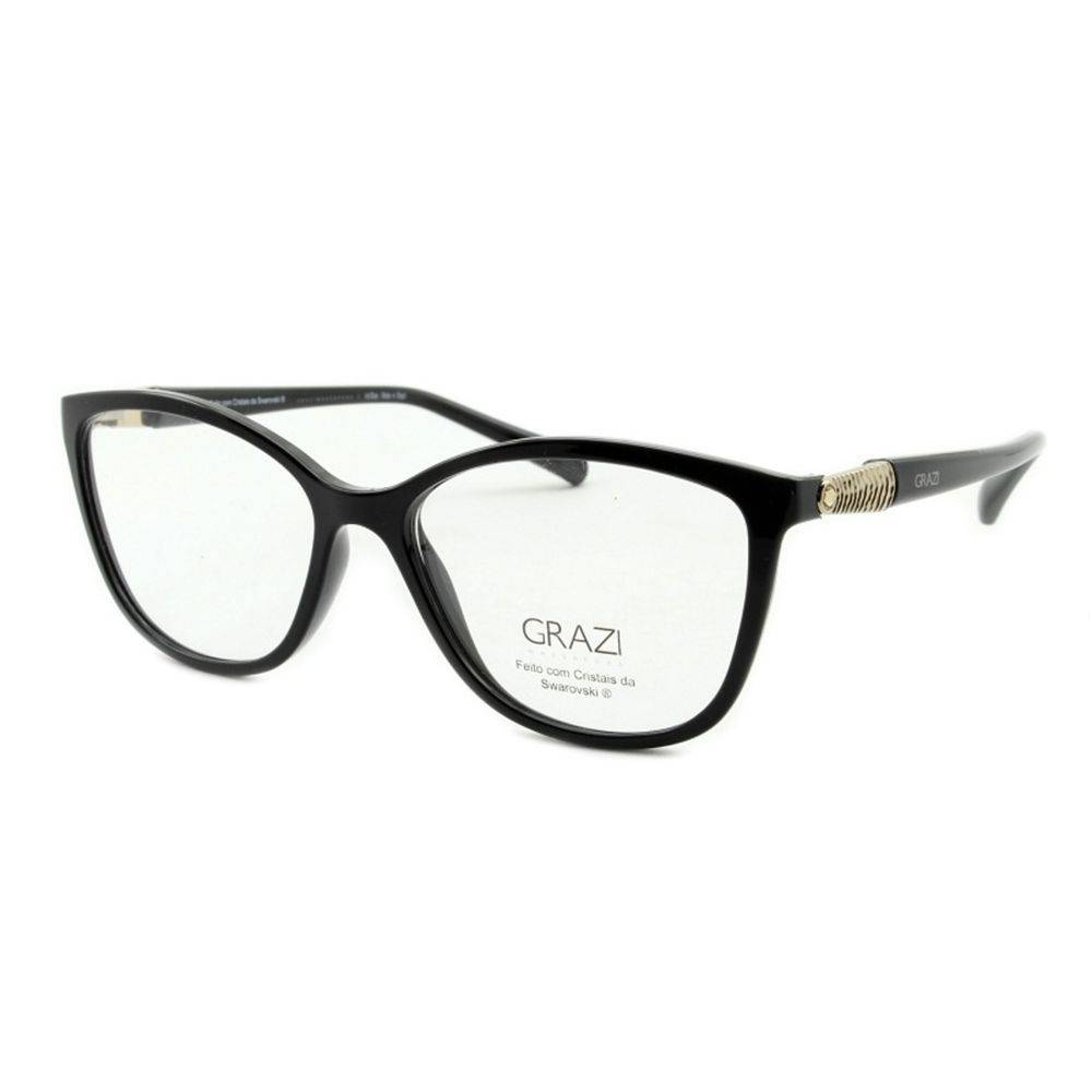 24b44dbab Armação Óculos De Grau Feminino Grazi Massafera GZ3022B E101 - Omega ...