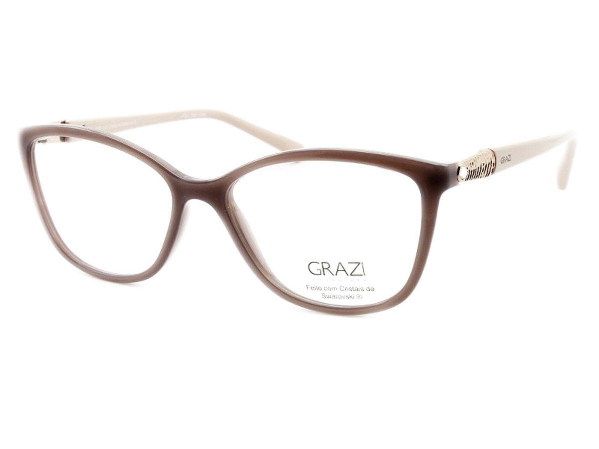 eb9194f29 Armação Óculos De Grau Feminino Grazi Massafera GZ3022B E102 - Omega ...
