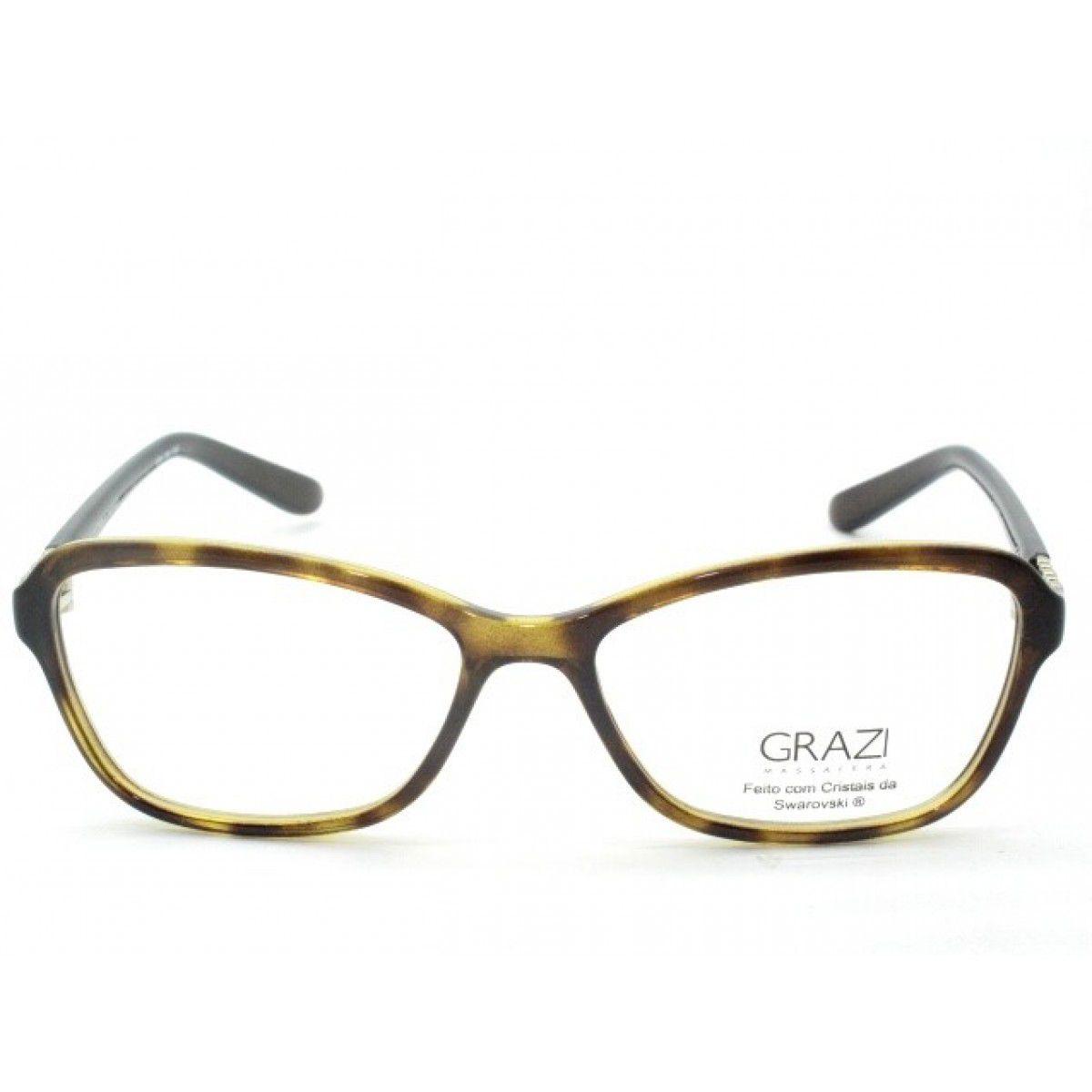 d215706c0 Armação Óculos De Grau Feminino Grazi Massafera GZ3028B E410 - Omega ...