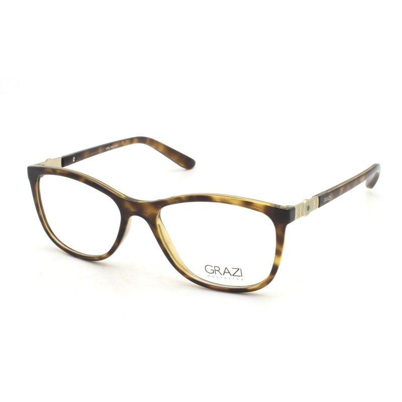 b77449949 Armação óculos de grau feminino Grazi Massafera GZ3039 F071 - Omega ...