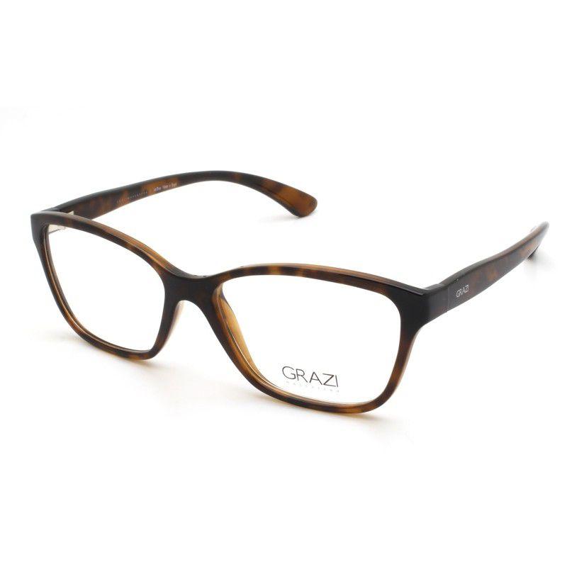 9333ff89e Armação Óculos De Grau Feminino Grazi Massafera GZ3040 G114 - Omega ...