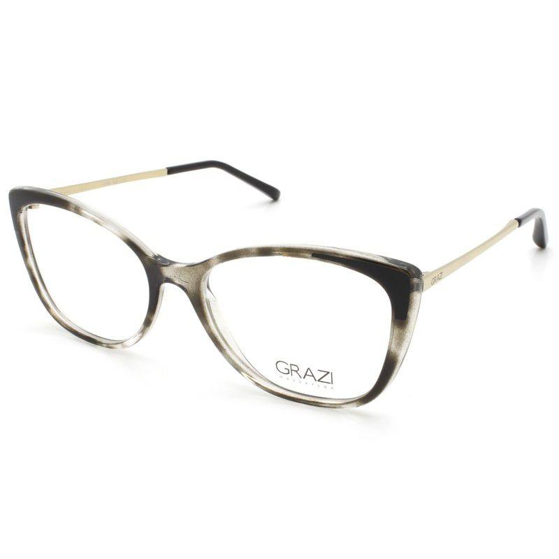 c4c6c615f Armação óculos de grau feminino Grazi Massafera GZ3055 F917 - Omega ...