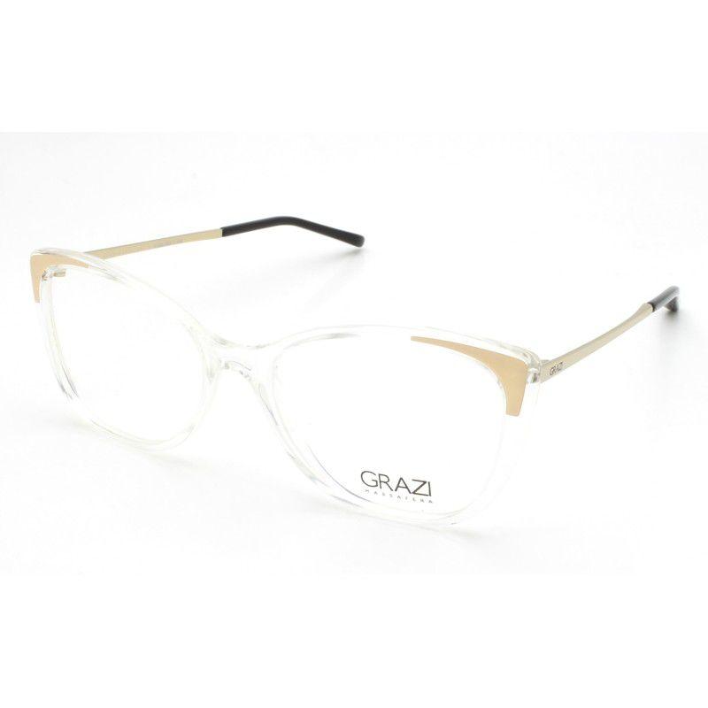 c95624ee0 Armação óculos de grau feminino Grazi Massafera GZ3055 G172 - Omega ...