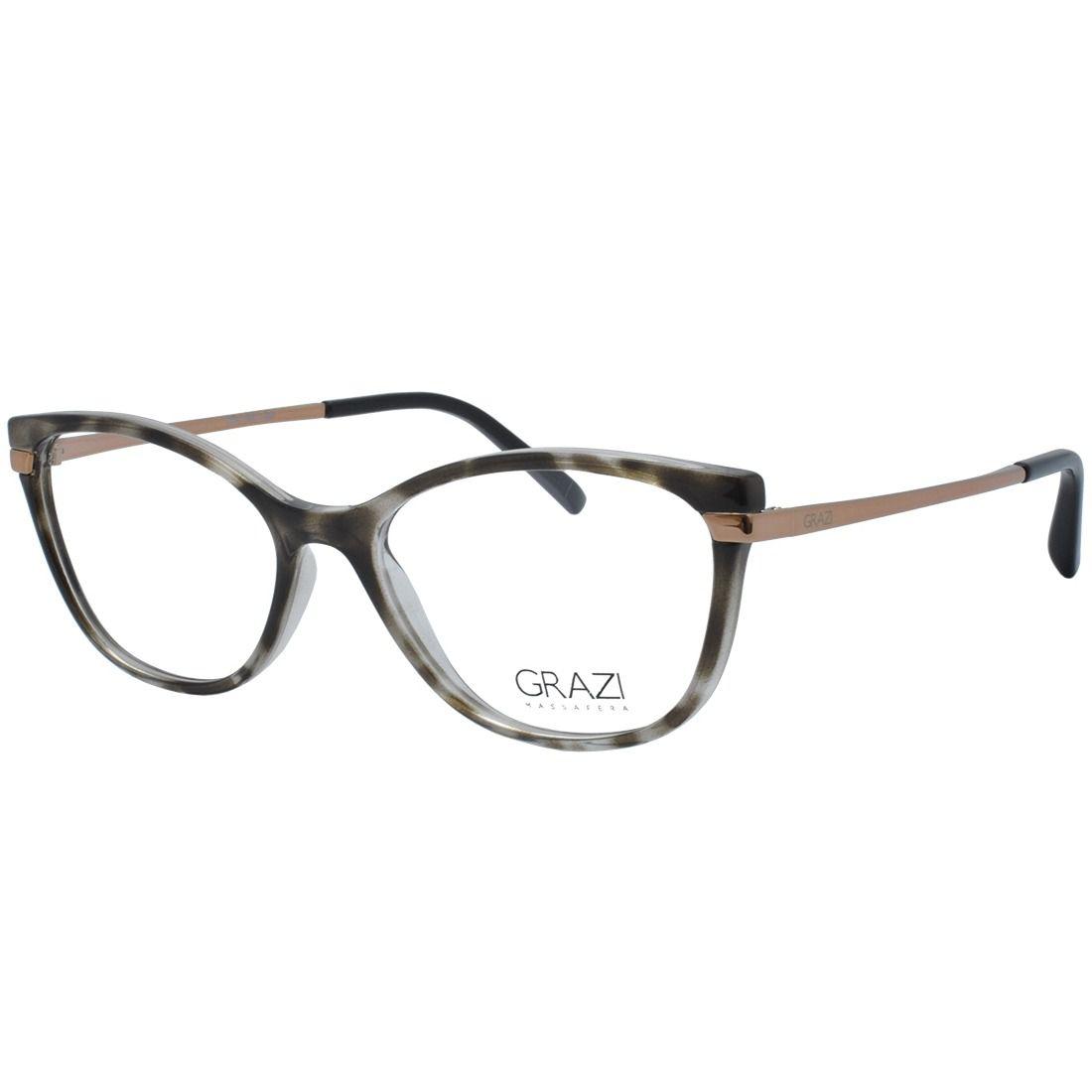 f8af109bf Armação óculos de grau feminino Grazi Massafera GZ3056 G083 - Omega ...