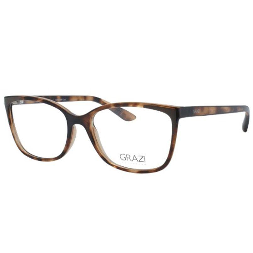 e40b3c8f2 Armação óculos de Grau Feminino Grazi Massafera GZ3058 G091 - Omega ...