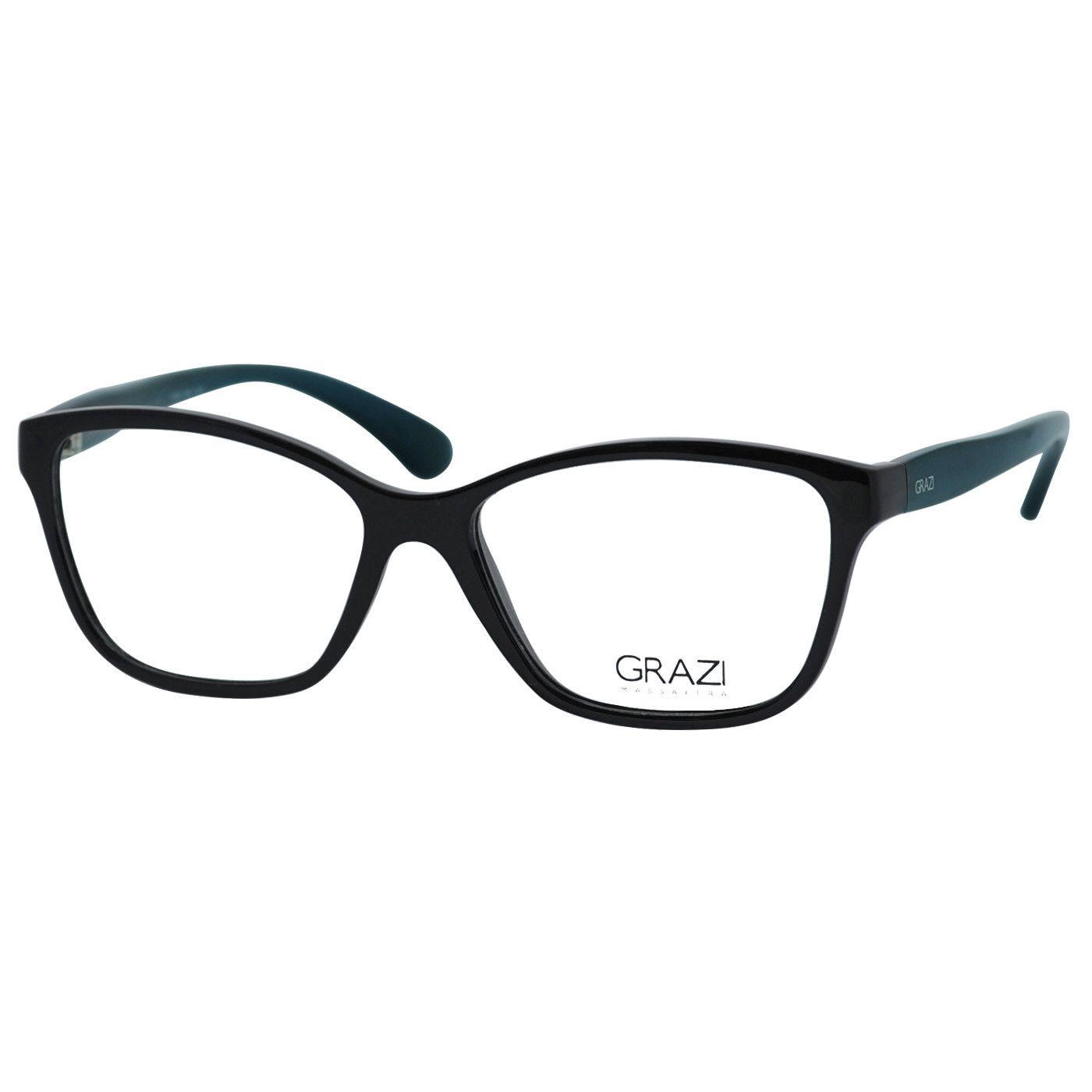 4949e3c07 Armação Óculos De Grau Feminino Grazi Massafera Gz 3040 F236 - Omega ...