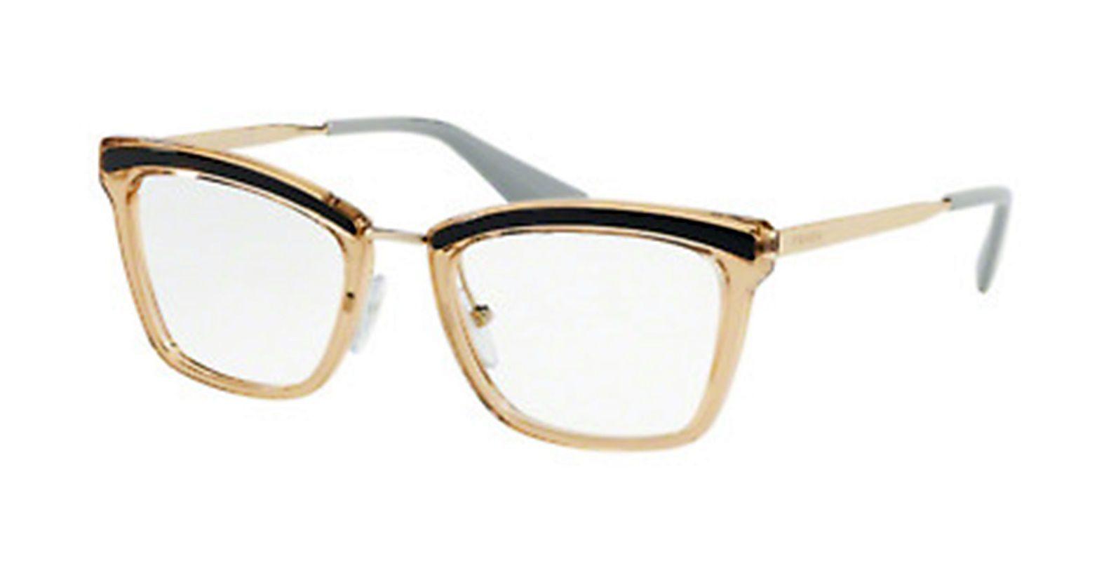 df2a43942 Armação Óculos de Grau Feminino Prada VPR15U KOF-101 - Omega Ótica e ...