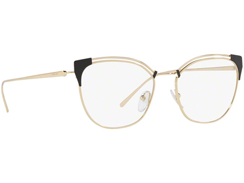 b4a36f643 Armação Óculos de Grau Feminino Prada VPR62U YEE-101 - Omega Ótica e ...