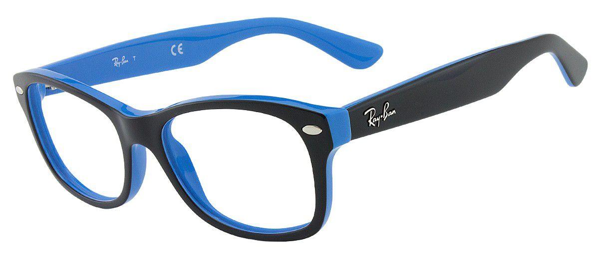 7d6900e1b949d Armação Óculos De Grau Infantil Ray-ban Rb1528 3659 - Omega Ótica e ...