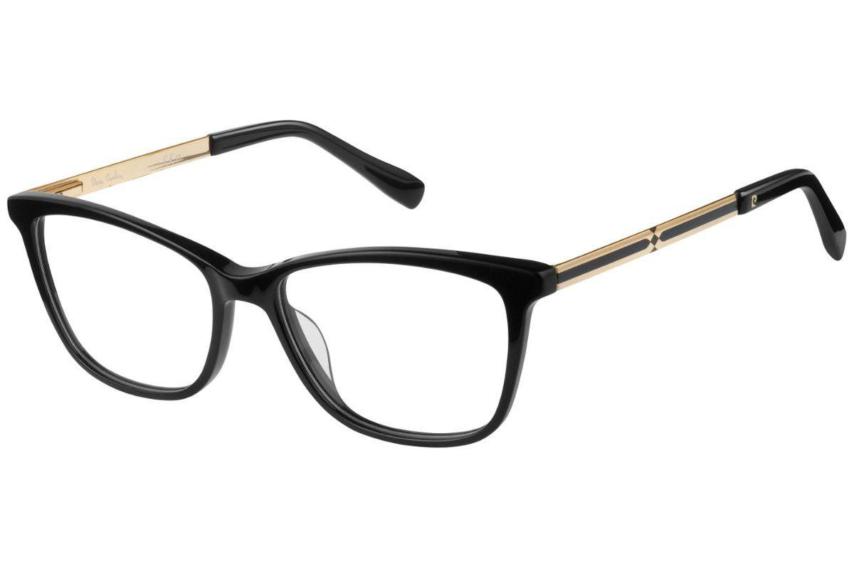 d34b85d7a Armação Óculos de grau Pierre Cardim P.C.8465 807 - Omega Ótica e ...