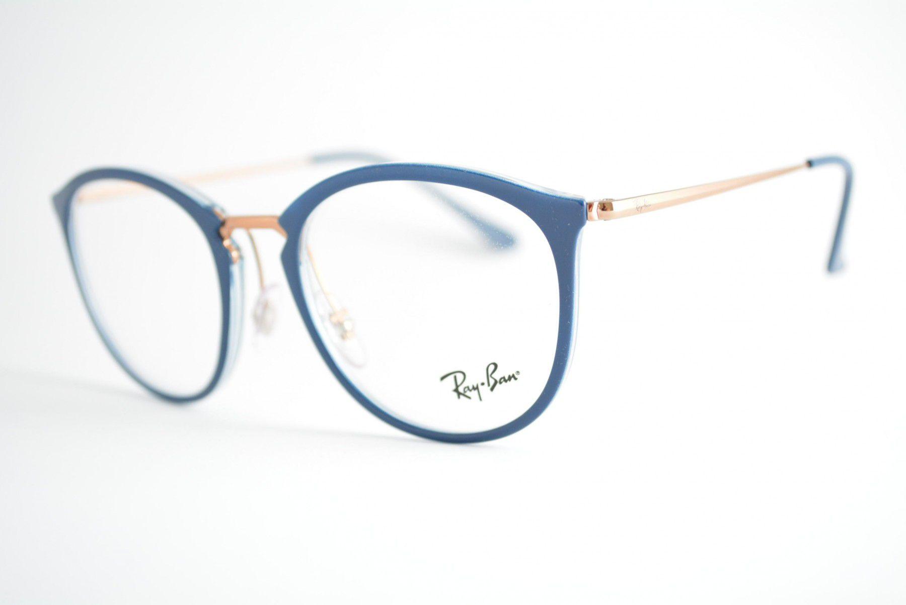add661f5fab2b Armação Óculos de Grau Ray-Ban RB7140 5853 - Omega Ótica e Relojoaria