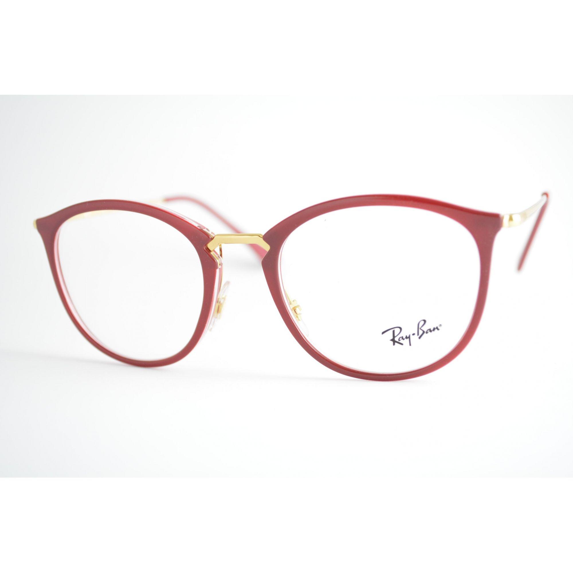 8a3eb89a3 Armação Óculos de Grau Ray-Ban RB7140 5854 - Omega Ótica e Relojoaria