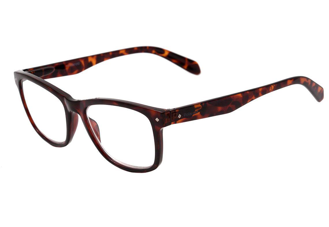 Óculos de Leitura com Grau + 2.00 Polaroid Unissex PLD 0020/R 086