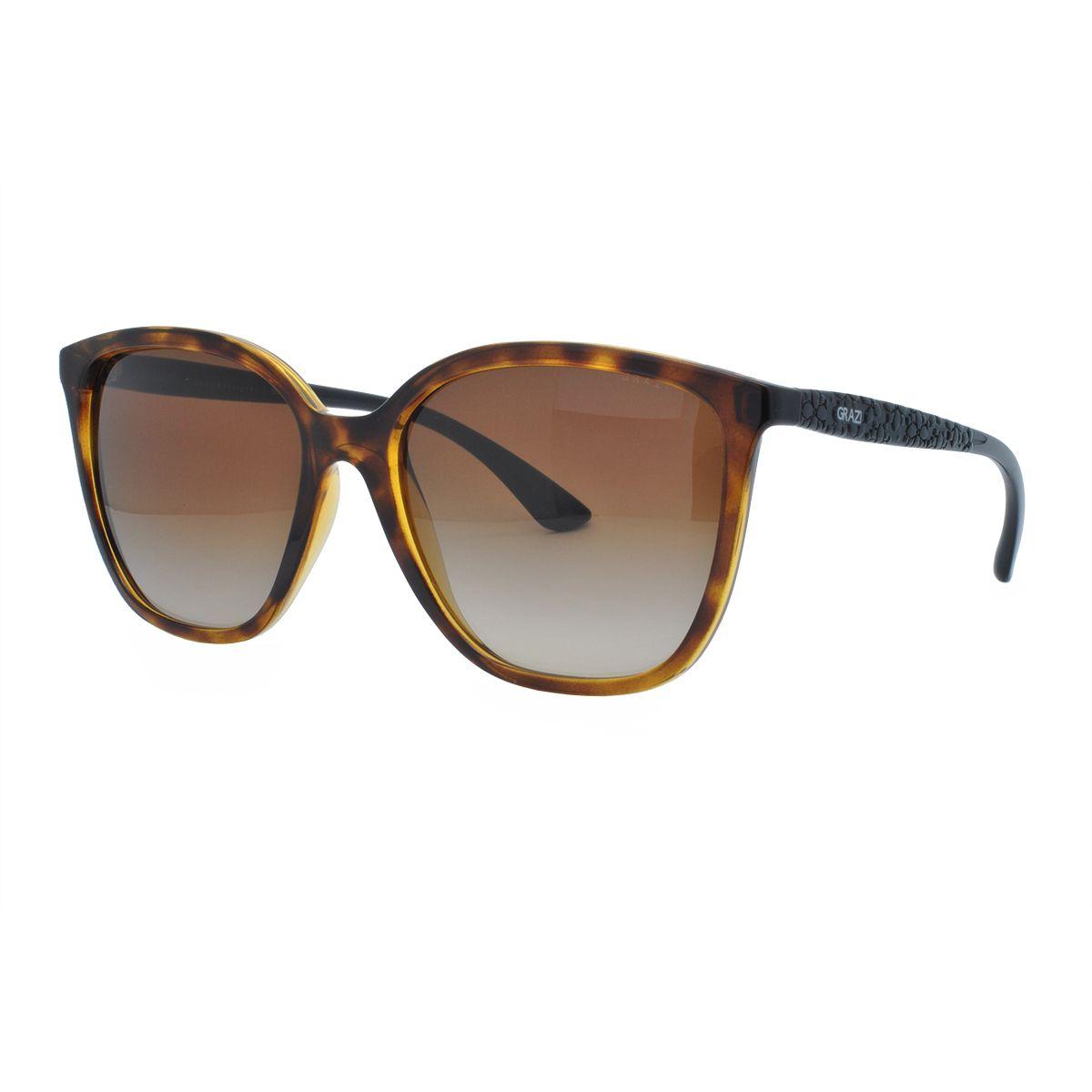 ba781e8fce397 Óculos de Sol Feminino Grazi Massafera GZ4025 F718 - Omega Ótica e ...