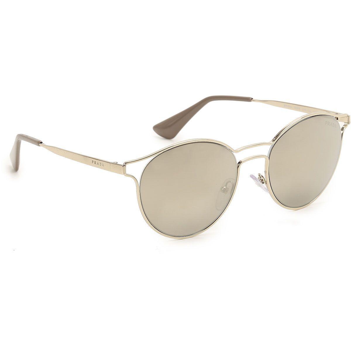 17ab6644fed0f Óculos de Sol Feminino Prada SPR62S ZVN-1C0 - Omega Ótica e Relojoaria