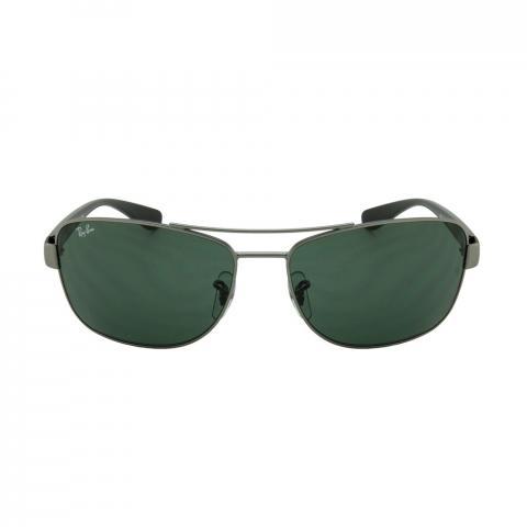 Óculos De Sol Ray-ban Rb3518l 029/71 Cinza Lentes Verde G15