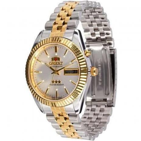 edf334107b0 Relógio Orient automático 469wc1 b1ks - Omega Ótica e Relojoaria