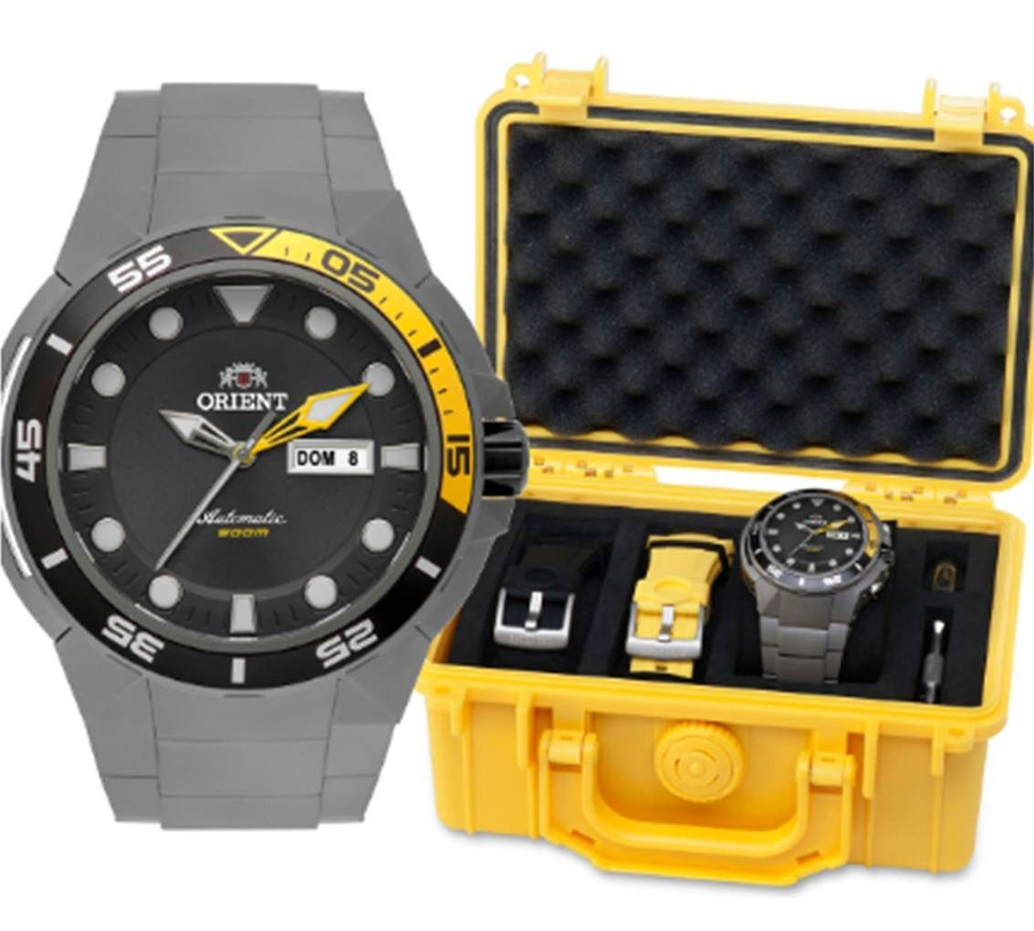 Relógio Orient Seatech Titanium Automático 469ti003 500m